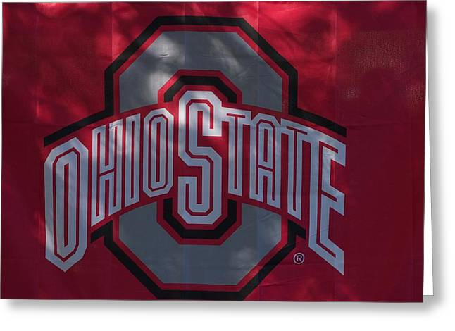 Joseph Yarbrough Greeting Cards - Ohio State Greeting Card by Joseph Yarbrough