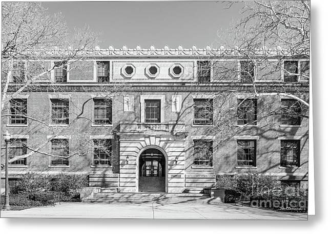 Ohio State University Derby Hall  Greeting Card by University Icons