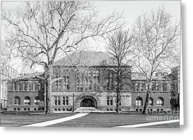 Ohio State University Hayes Hall Greeting Card by University Icons