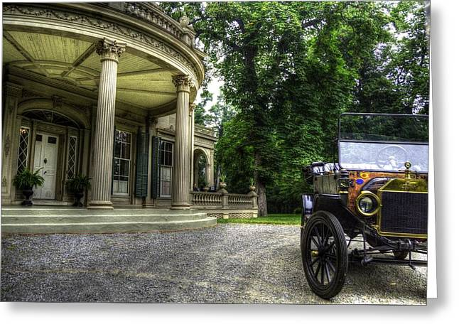 Ford Model T Car Greeting Cards - Ol Lizzy Greeting Card by Scott Harrison