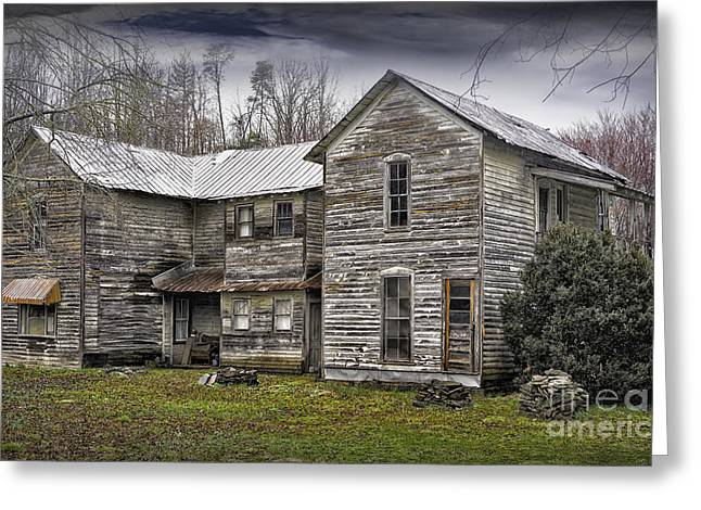 Old Abandoned House Greeting Cards - Old Abandoned House Greeting Card by Walt Foegelle