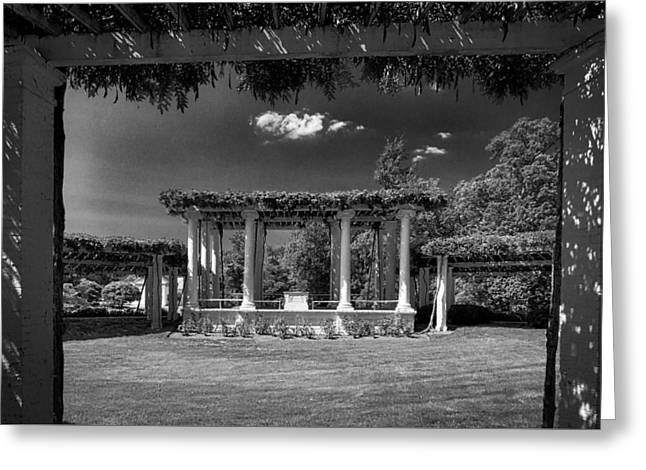 Civil Greeting Cards - Old Amphitheater at Arlington Cemetery Greeting Card by Stuart Litoff