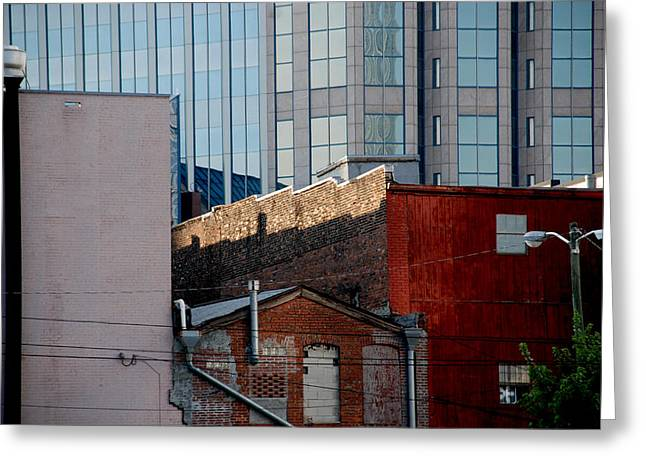 Old and new close together Greeting Card by Susanne Van Hulst