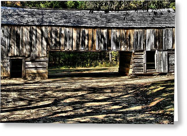 Tenn Greeting Cards - Old Barn  Greeting Card by Dennis Sullivan