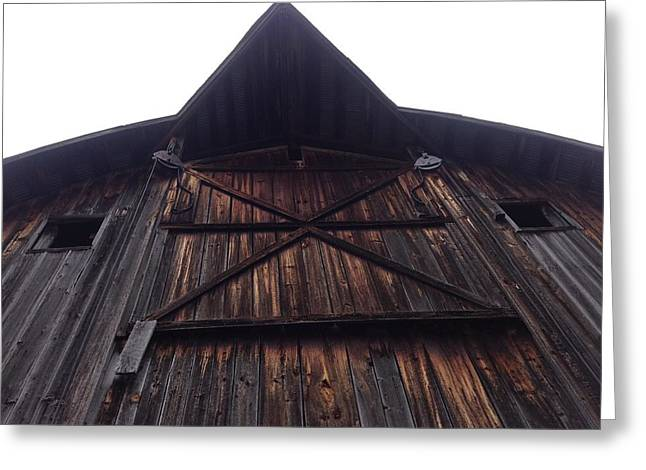 Outbuildings Greeting Cards - Old Barn in Northern Minnesota Greeting Card by Lois Handel