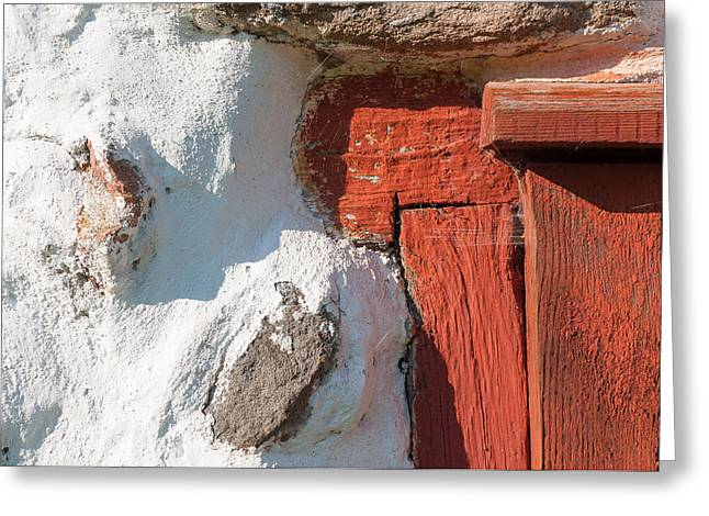 Barn Door Greeting Cards - Old barn  Greeting Card by Marcus Karlsson Sall