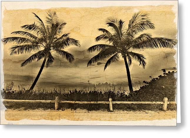 Sanddunes Greeting Cards - Old Beach Greeting Card by Debra and Dave Vanderlaan
