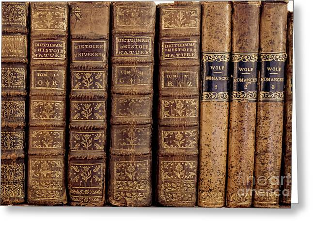 Tome Greeting Cards - Old Books Greeting Card by Edward Fielding