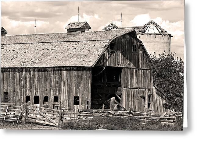 Striking Images Greeting Cards - Old Boulder County Colorado Barn Greeting Card by James BO  Insogna