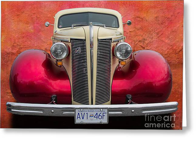 Old Buick Greeting Card by Jim  Hatch