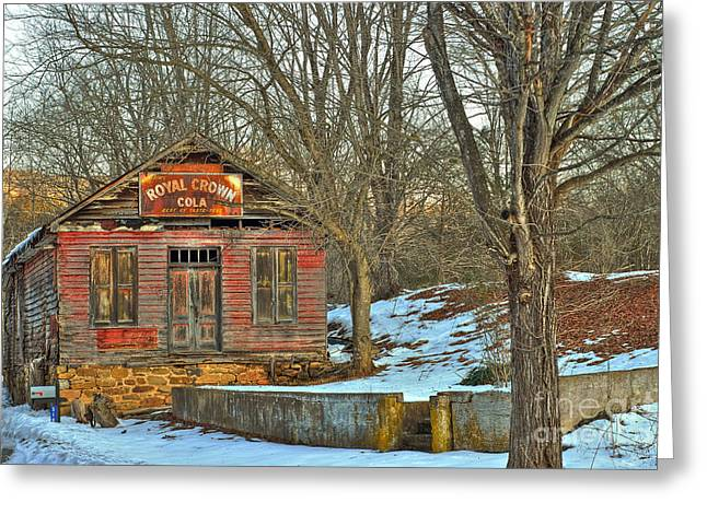 Rockbridge County Greeting Cards - Old Building Greeting Card by Todd Hostetter