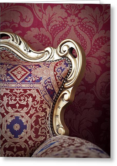 Old Chair. Greeting Card by Andrey  Godyaykin