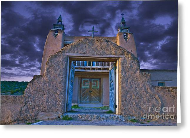 Gateway Church Greeting Cards - Old church Greeting Card by Jim Wright