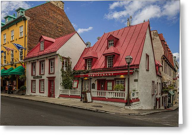Chateau Greeting Cards - Old City Greeting Card by Capt Gerry Hare