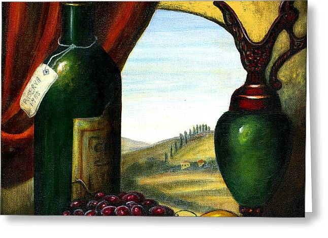 Old Country Feeling II Greeting Card by ITALIAN ART