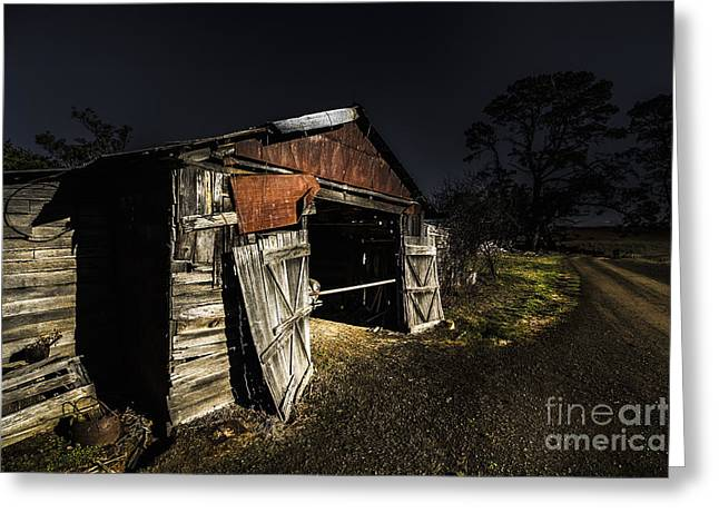 Old Country Shack Greeting Card by Jorgo Photography - Wall Art Gallery