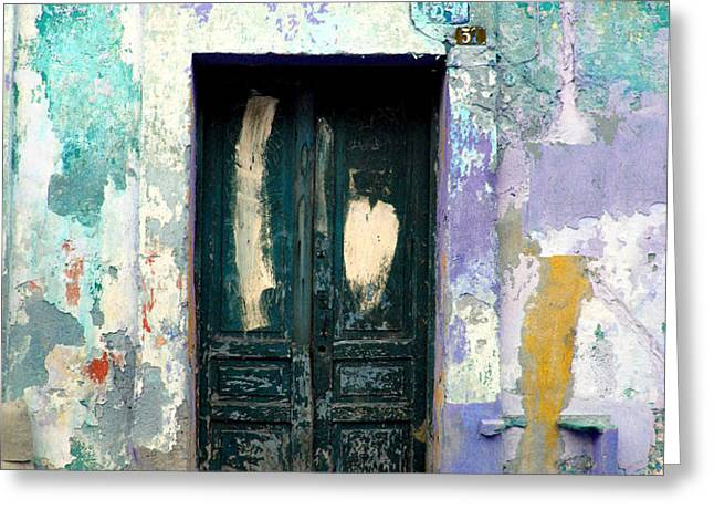 Old Door 4 by Darian Day Greeting Card by Olden Mexico
