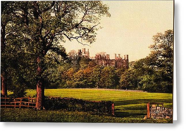 Ground Pastels Greeting Cards - Old Estate Grounds H B Greeting Card by Gert J Rheeders