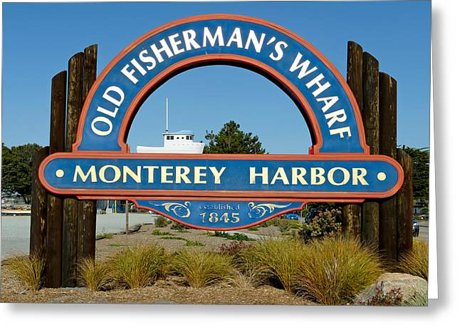 Entryway Greeting Cards - Old Fishermans Wharf  Greeting Card by Mountain Dreams