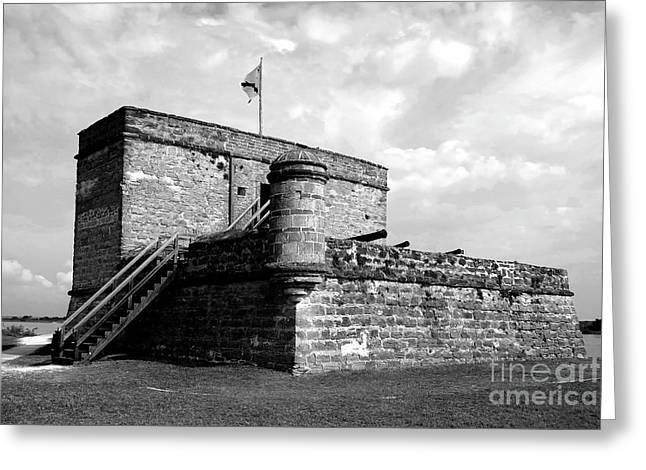 Matanzas Greeting Cards - Old Fort Matanzas Greeting Card by David Lee Thompson
