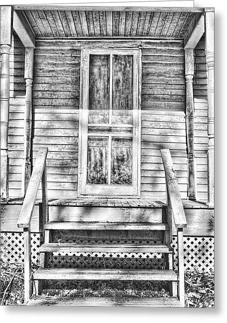 Old Front Porch Greeting Card by Vicki McLead