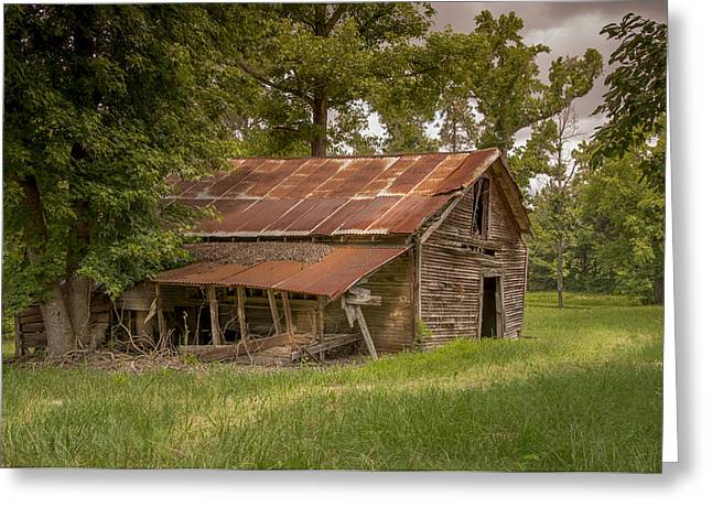 Warm Tones Greeting Cards - Old Home in the Meadow Greeting Card by Chris Daugherty