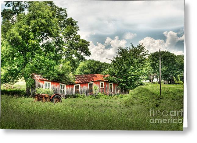 Tamyra Ayles Greeting Cards - Old Homestead Greeting Card by Tamyra Ayles