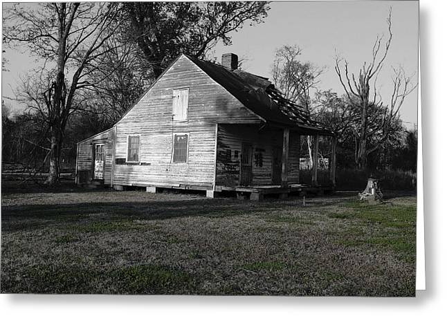 Eye4life Photography Greeting Cards - Old House Greeting Card by Alicia Morales