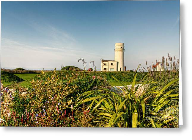 Norfolk Greeting Cards - Old Hunstanton Lighthouse North Norfolk UK Greeting Card by John Edwards