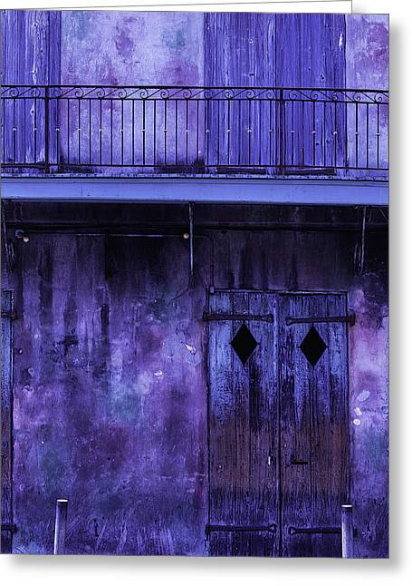 Nola Photographs Greeting Cards - Old Jazz Club Greeting Card by Garry Gay