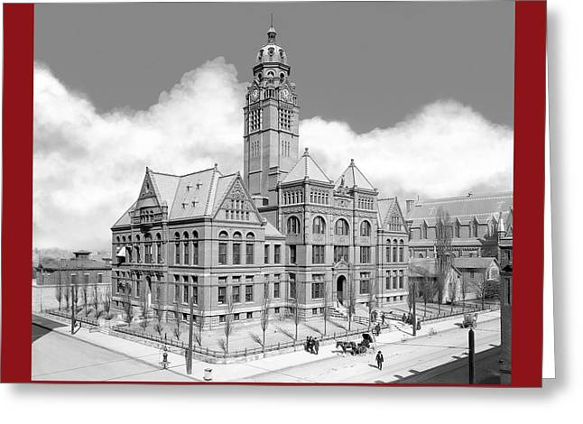 Old Jefferson County Courthouse - Birmingham Greeting Card by Mark E Tisdale