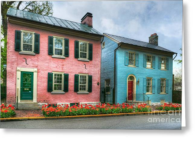 Historic Home Greeting Cards - Old Kentucky Homes 2 Greeting Card by Mel Steinhauer