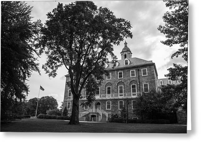 Old Main Penn State Greeting Card by John McGraw