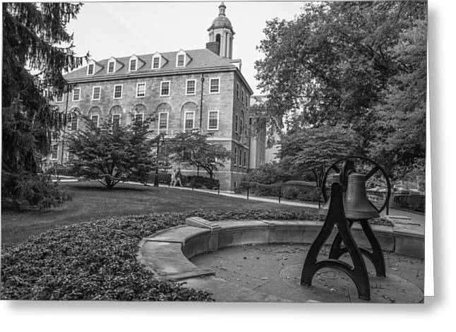 Old Main Penn State University  Greeting Card by John McGraw