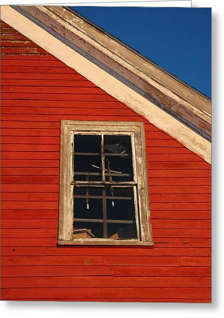 Old Maine Barns Greeting Cards - Old Maine Barn Greeting Card by Andrew Brunk