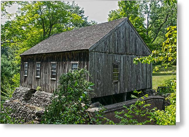 Saw Greeting Cards - Old Mill Greeting Card by Douglas Miller