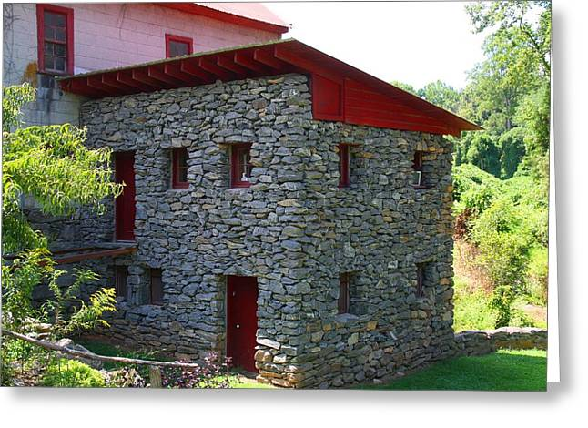 Old Mill Of Guilford Annex Greeting Card by Kathryn Meyer