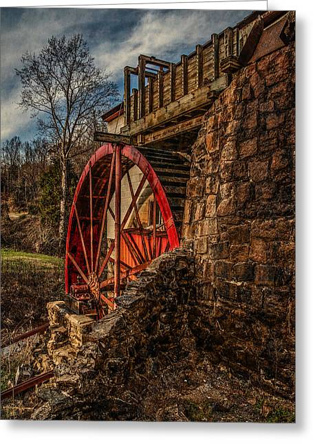 Old Mill Of Guilford II Greeting Card by Pam DeCamp
