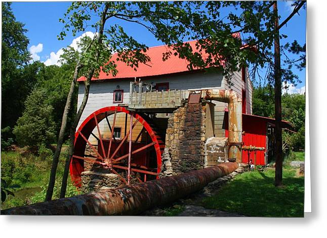 Old Mill Of Guilford Greeting Card by Kathryn Meyer