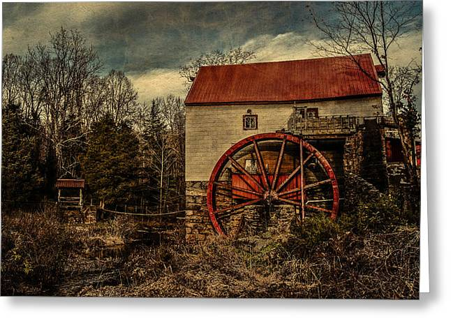 Old Mill Of Guilford Greeting Card by Pam DeCamp