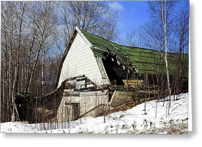 Recently Sold -  - Old Maine Barns Greeting Cards - Old n Rustic Greeting Card by Gary Smith