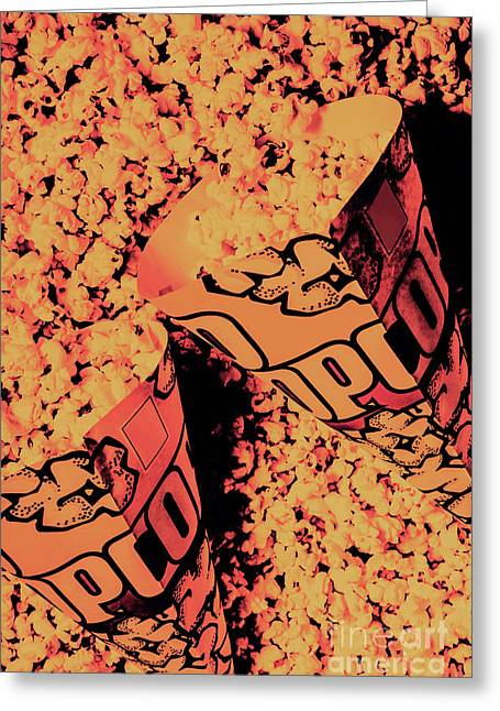 Old Pop Corn Culture Greeting Card by Jorgo Photography - Wall Art Gallery