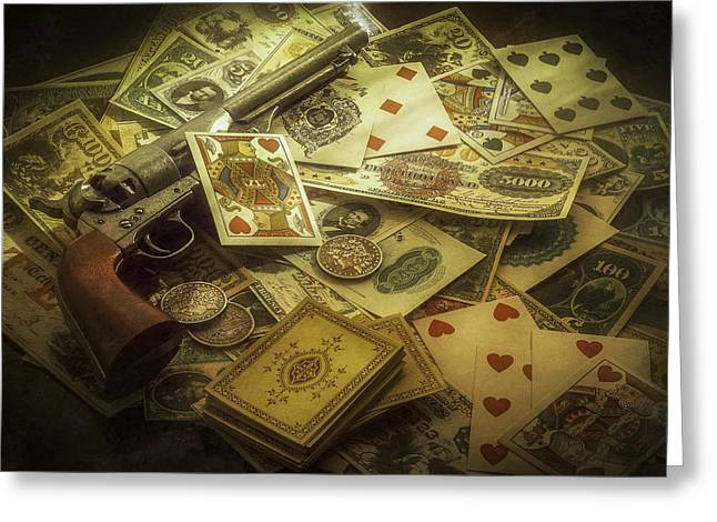 Playing Cards Greeting Cards - Old Smokey Greeting Card by Jack Hardin