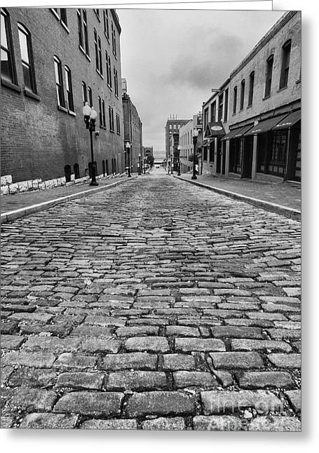 Scott Nelson Photographs Greeting Cards - Old St. Louis Street Greeting Card by Scott Nelson