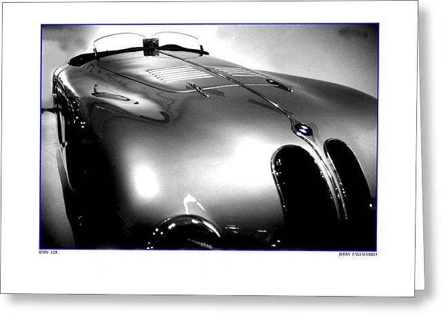 Old Style Speed Greeting Card by Jerry Taliaferro