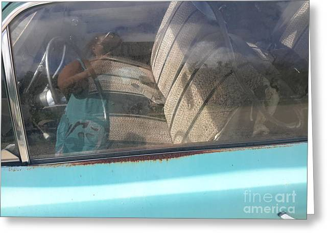 Steering Greeting Cards - Old Summer Love Greeting Card by Cindy  Riley