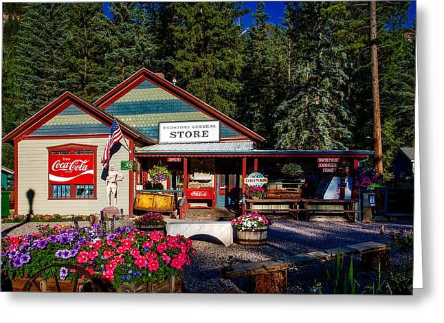 Old Time General Store Greeting Card by Mountain Dreams