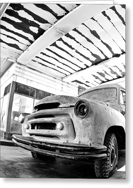 Old Trucks Greeting Cards - Old Timer Greeting Card by Aron Kearney Fine Art Photography