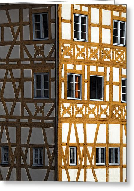 Old Town Hall, Bamberg, Germany Greeting Card by Helmut Meyer zur Capellen