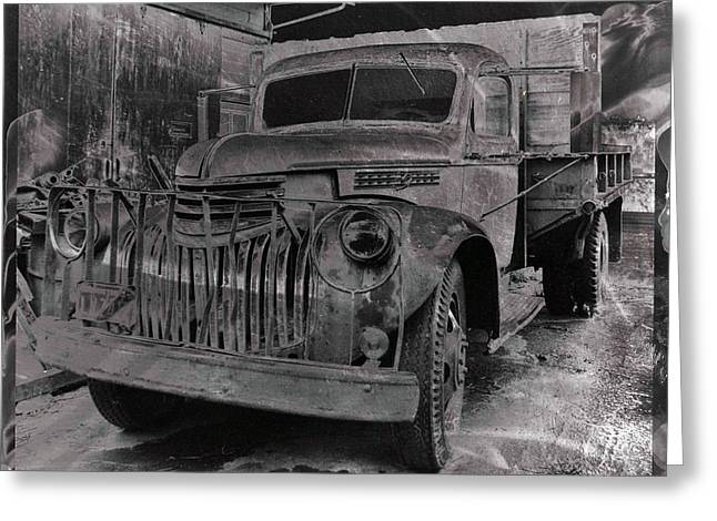 Old Trucks Greeting Cards - Old Truck Greeting Card by Viktor Stakhov